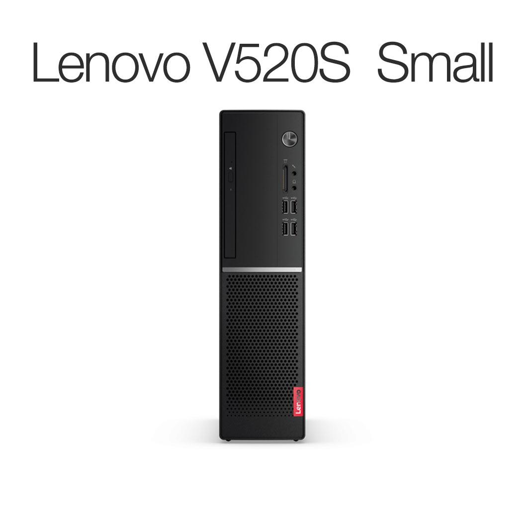 【Windows10 Home搭載】Lenovo V520S Small:Core i7搭載モデル(8GBメモリ/500GB HDD/モニタなし/Officeなし/Windows10)【レノボ直販デスクトップパソコン】【受注生産モデル】:レノボ・ショッピング