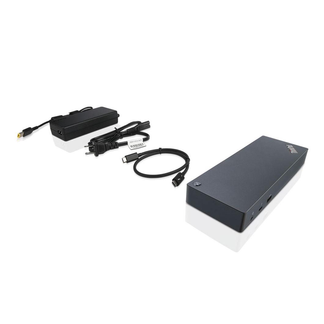 【4月26日01:59まで当店ポイント5倍!】ThinkPad Thunderbolt3 ドック (40AC0135JP)【周辺機器】
