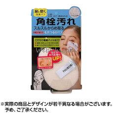 ツルリ角栓からめ取り洗顔シルクパフ1個入|パフ洗顔