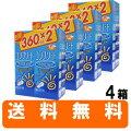 コンプリートダブルモイスト(360ml×2本)ダブルパック×4箱[コンタクトレンズ洗浄液保存液ケア用品]
