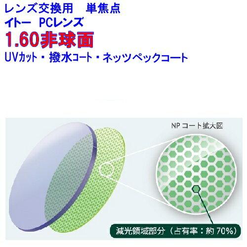 眼鏡・サングラス, 眼鏡レンズ 160AS b.u.i LCD 1.60 21 1 OK