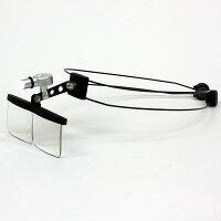 非球面ヘッドルーペマルチコート・ハードコート【HD-200W】カチューシャ型ワイヤーバンド読書・ホビー・精密作業眼鏡の上からご使用できます。