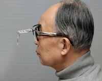 メガネ型ヘッドルーペアルミ製メタルフレームレンズ交換式日本製