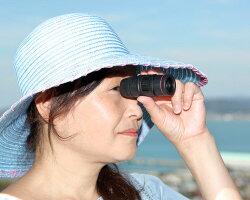 単眼鏡monocle718モノキュラー片目で使える望遠鏡美術館博物館遠近両用