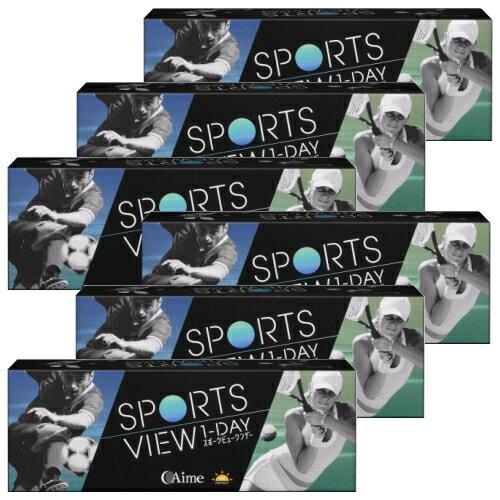 コンタクトレンズ・ケア用品, ソフトコンタクトレンズ 6 30 6 1 Aime sports view 1day