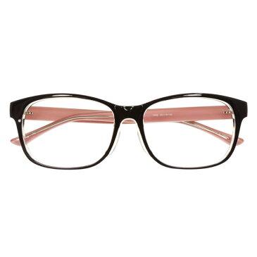 【2700円の眼鏡セット 軽量 度付きメガネ】YUNIBA-TR1 PK