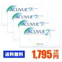 【送料無料】 2ウィークアキュビュー 4箱セット ( コンタクトレンズ...