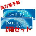 【簡単購入!!】フォーカスデイリーズアクア 30枚 2箱セット☆日本アルコン(国内正規品)