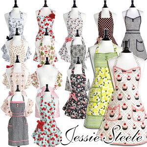 【JessieSteele】ジェシースティール☆選べるエプロン♪あす楽対応