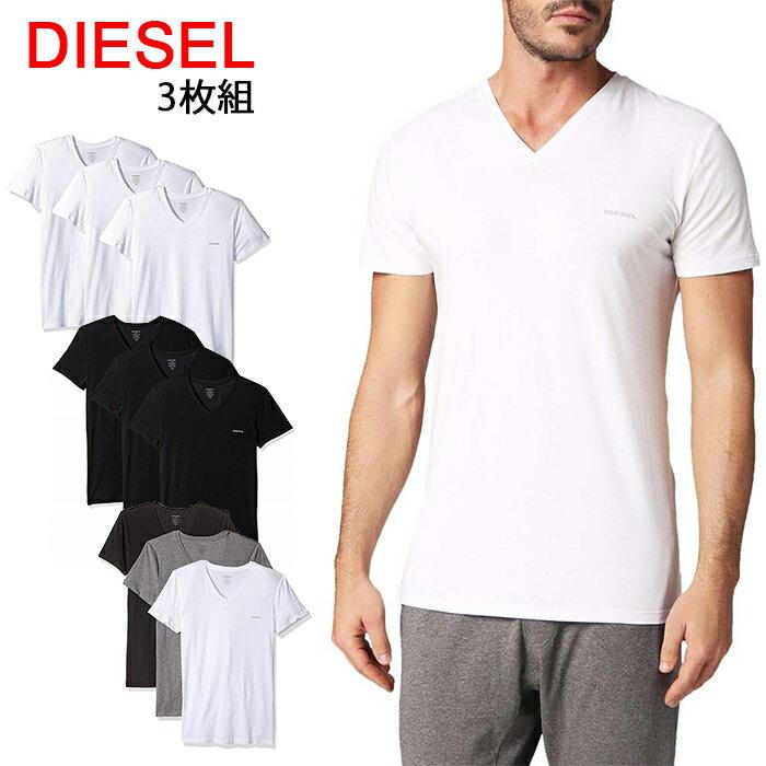 送料無料 ディーゼル Tシャツ 半袖 Vネック ...の商品画像