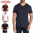 ディーゼル DIESEL Tシャツ 半袖 00STY5 R091B T-THERAPONEW