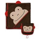 スキップホップ SKIP HOP ズー フード バスタオル ミット セット【 サル / 猿 / モンキー 】 Zoo Towel Mitt set 【HLS_DU】【RCP】