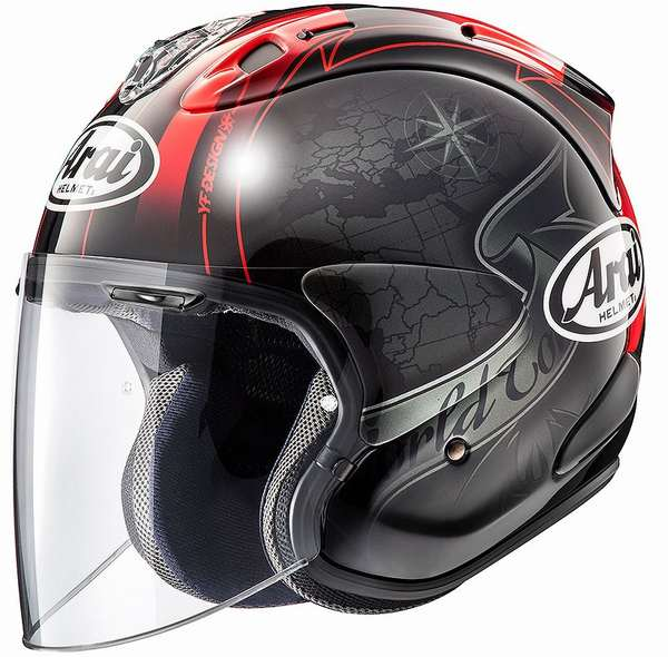 バイク用品, ヘルメット 111920-26AM159!!10!! ARAI PB-CLC2 VZ-Ram VZ HARADA TOUR