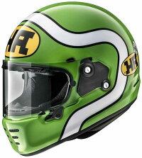 (ヘルメットバイク)ARAI(アライ)RAPIDENEOHAへルメット緑/XL(61-62)サイズ