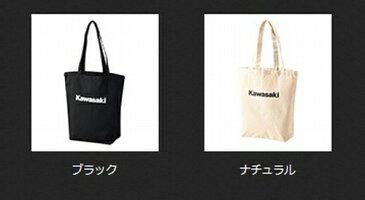 カワサキ (純正) キャンパストートバッグ2 ブラック J8911-0093 ナチュラル J8911-0094