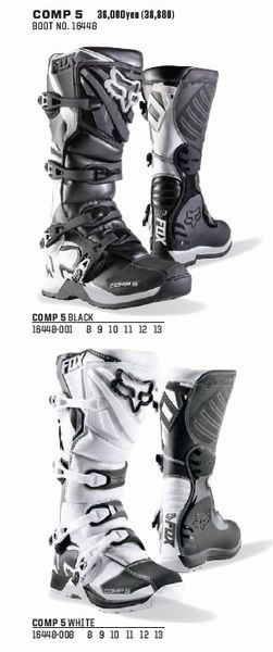 2018 FOX (フォックス) COMP 5 (COMP5 コンプ5) ブーツ