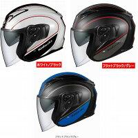 (ヘルメットバイク)OGKKABUTO(オージーケーカブト)EXCEED(エクシード)DELIE(デリエ)フラットブラックブルーL
