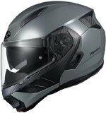 (ヘルメット バイク) OGK KABUTO (オージーケーカブト) RYUKI (リュウキ リューキ) ミディアムグレー/S ヘルメット