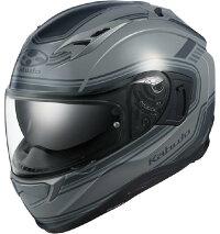 (ヘルメットバイク)OGKKABUTO(オージーケーカブト)KAMUI-3CLASSIC(クラシック)グレー/L(予約商品2020年6月下旬以降発売予定)