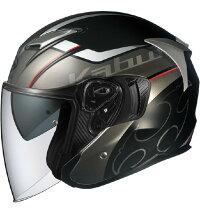 (ヘルメットバイク)OGKKABUTO(オージーケーカブト)EXCEED(エクシード)GLIDE(グライド)ブラックガンメタ/XL(予約商品2020年7月下旬以降発売予定)