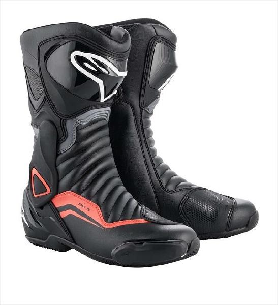 バイクウェア・プロテクター, ブーツ Alpinestars SMX 6 V2 BOOT 3017 1130 BLACK GRAY RED FLUO 41
