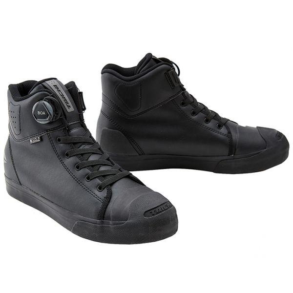 バイクウェア・プロテクター, ブーツ 89AM159!!10!! RS RSS011 011 DRYMASTER-FIT ALL BLACK 23.0cm