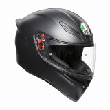 AGV K1 (K-1) ヘルメット マットブラック SG規格 (返品 交換 キャンセル不可商品) (日本代理店正規品) (当社在庫あり)