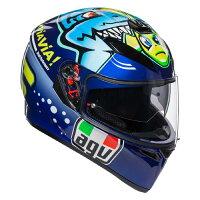 AGVヘルメットK-3SV(K3SVK-3SV)MPLK004-ROSSIMISANO2015Sサイズ