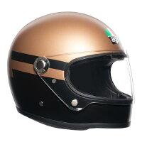 AGVLegends(レジェンドレジェンズ)X3000AGVSUPERBAGOLD/BLACK(ゴールド/ブラック)ヘルメット(返品交換不可商品)(日本代理店正規品)