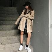 ジッパージャケットレディース可愛い柔らか通勤通学上着ジャケット羽織りスプリングコート
