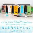 【送料込】夏の彩りセレクション 5個セット|ギフト、お祝い、父の日、お中元、夏のギフト