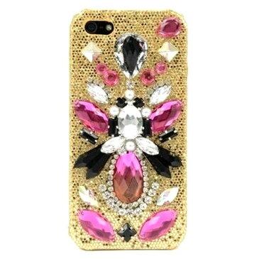 アウトレット SKINNYDIP スキニーディップ ロンドンデザイン 綺麗 ビジュー iPhone 5 5S SE Triton Case キラキラ デコレーション 装飾 アイフォン5S アイフォン5 アイフォンエスイー デコ かわいい 可愛い おしゃれ お洒落 保護フィルム付き 海外ブランド 訳あり 在庫限り