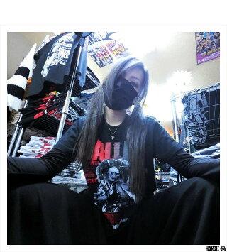 (ハードコアチョコレート)HARDCORECHOCOLATEDALLAS(ザ・グレート・カブキ)(SS:TEE)(T-455-BK)Tシャツ半袖カットソー新日本全日本プロレス国内正規品