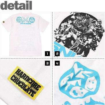 (ハードコアチョコレート) HARDCORE CHOCOLATE World's Hardest SNK (新日本企画ホワイト)(SS:TEE)(T-881-WH) Tシャツ 半袖 カットソー ゲーム SNK NEOGEO ネオジオ 国内正規品