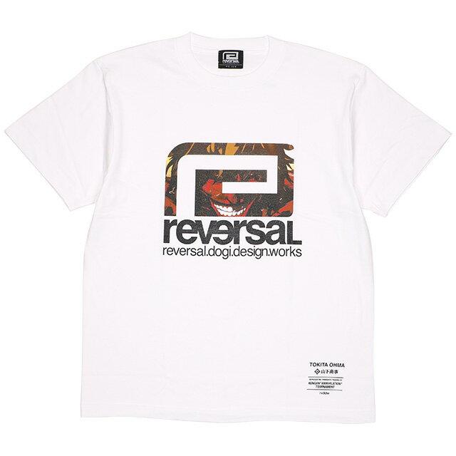 トップス, Tシャツ・カットソー () REVERSAL KENGANASHURA BIG MARK TEE (SS:TEE)(rvka001-WH) T
