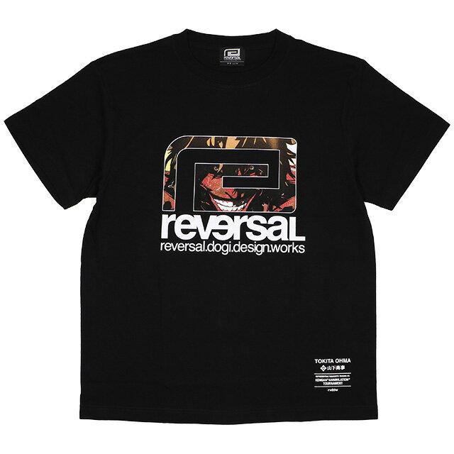 トップス, Tシャツ・カットソー () REVERSAL KENGANASHURA BIG MARK TEE (SS:TEE)(rvka001-BK) T