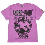 (ハードコアチョコレート) HARDCORE CHOCOLATE 世界8番目の不思議 アンドレ・ザ・ジャイアント (ジャイアント・ラベンダー)(SS:TEE)(T-1535-LV) Tシャツ 半袖 カットソー 新日本 全日本 プロレス 国内正規品