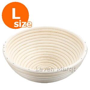 手作りパンには欠かせない発酵かごです◆籐 醗酵カゴ 丸型 (L)【パン作り/バヌトン/籠】