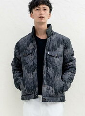Levi's Reversible Quilted Trucker Jacket 36077: 0000 Black