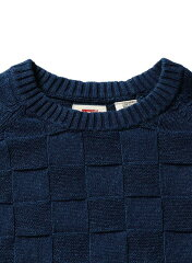 Levi's Hayes Crewneck Sweater 27535: 0009 Medium Indigo