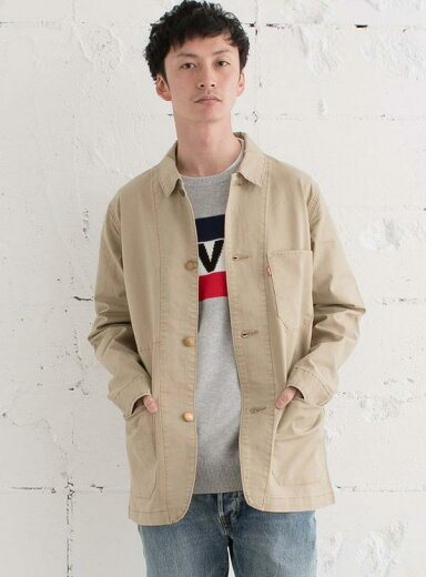 Levi's Engineer's Coat 29655: 0007 Harvest Gold