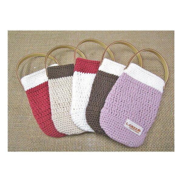 かぎ編み 携帯 スマートフォンケース No.149 安心・長持ちの日本製お洒落雑貨 小物入れにも最適 メール便対応