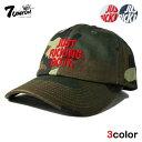 セブンユニオン 7UNION ストラップバックキャップ 帽子 メンズ レディース デニム 迷彩 レザー フリーサイズ [ あす楽 ] [ nv lbe ol ptn ]