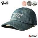 セブンユニオン 7UNION ストラップバックキャップ 帽子 メンズ レディース デニム フリーサイズ [ あす楽 ] [ bk nv lbe pk ]