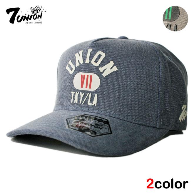セブンユニオン 7UNION ストラップバックキャップ 帽子 メンズ レディース フリーサイズ [ あす楽 ] [ gy bl ]