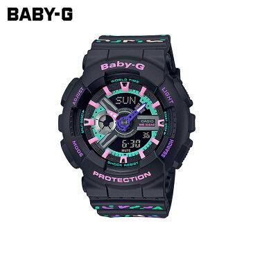 【女性用】 カシオ ベビーG 腕時計 ベビージー ベイビージー レディース CASIO BABY-G 防水 [ 国内正規品 ] [ bk ptn ]
