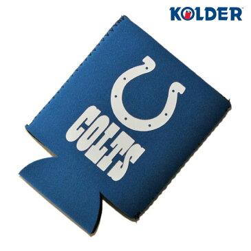 コルダー クージー 缶 クーラー 保温保冷 メンズ レディース KOLDER NFL インディアナポリス コルツ [ bl ]