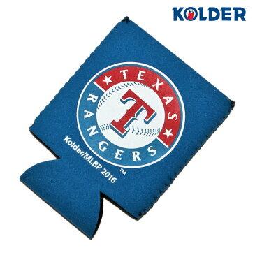 コルダー クージー 缶 クーラー 保温保冷 メンズ レディース KOLDER MLB テキサス レンジャーズ [ bl ]