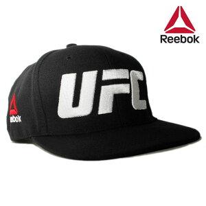 7659ca81 リーボック ユーエフシー コラボ スナップバックキャップ 帽子 メンズ レディース Reebok UFC フリーサイズ [ bk ]