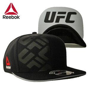 リーボック ユーエフシー コラボ スナップバックキャップ 帽子 メンズ レディース Reebok UFC フリーサイズ [ bk ]
